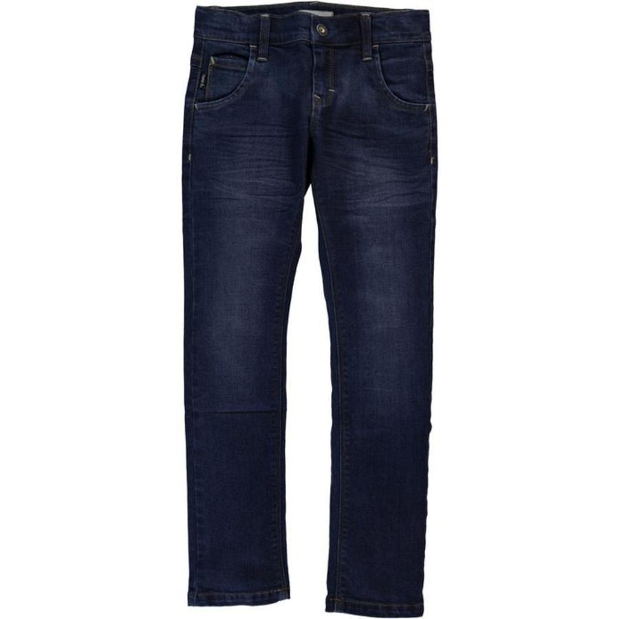 name it Boys Jeans Ralf blu scuro denim denim slim