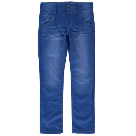 name it Boys Spodnie Jeans Joe medium blue denim slim