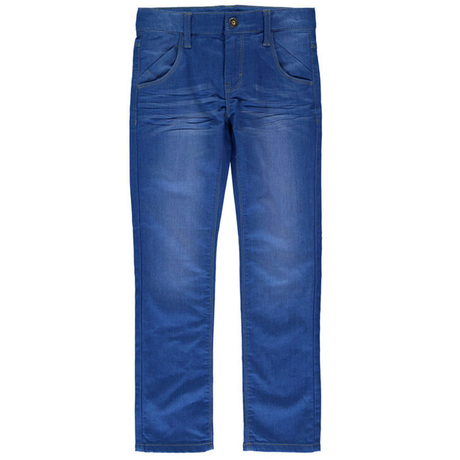 name it Boys Džíny Jť medium blue denim slim