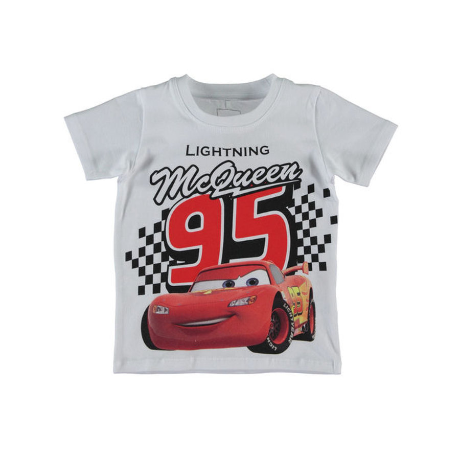 name it Boys T-Shirt Cars bright white