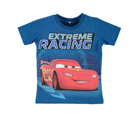 name it T-Shirt Cars mykonos blue