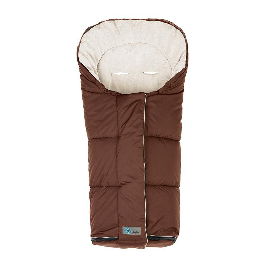 ALTABEBE Coprigambe a sacco invernale Nordic per passeggini marrone-whitewash