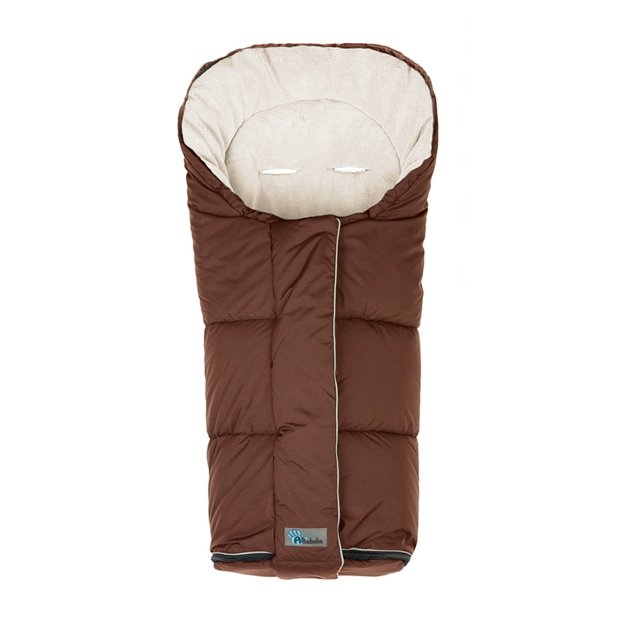 Altabebe Vinterkørepose Nordic til barne- og klapvogn brun- whitewash