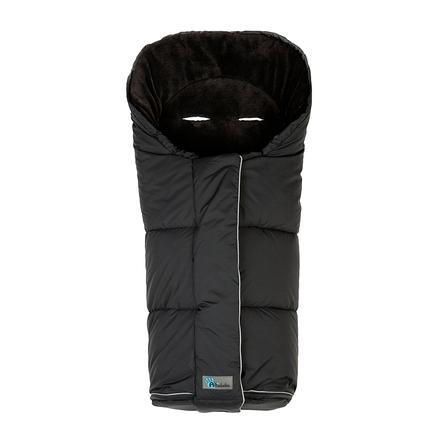 ALTABEBE Coprigambe a sacco invernale Nordic per passeggini nero-nero