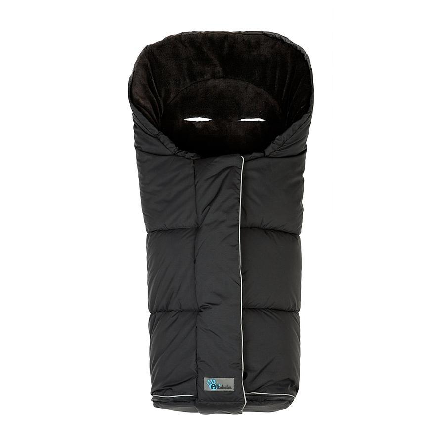 Altabebe Chancelière d'hiver Nordic pour poussette et poussette-canne, noir/noir