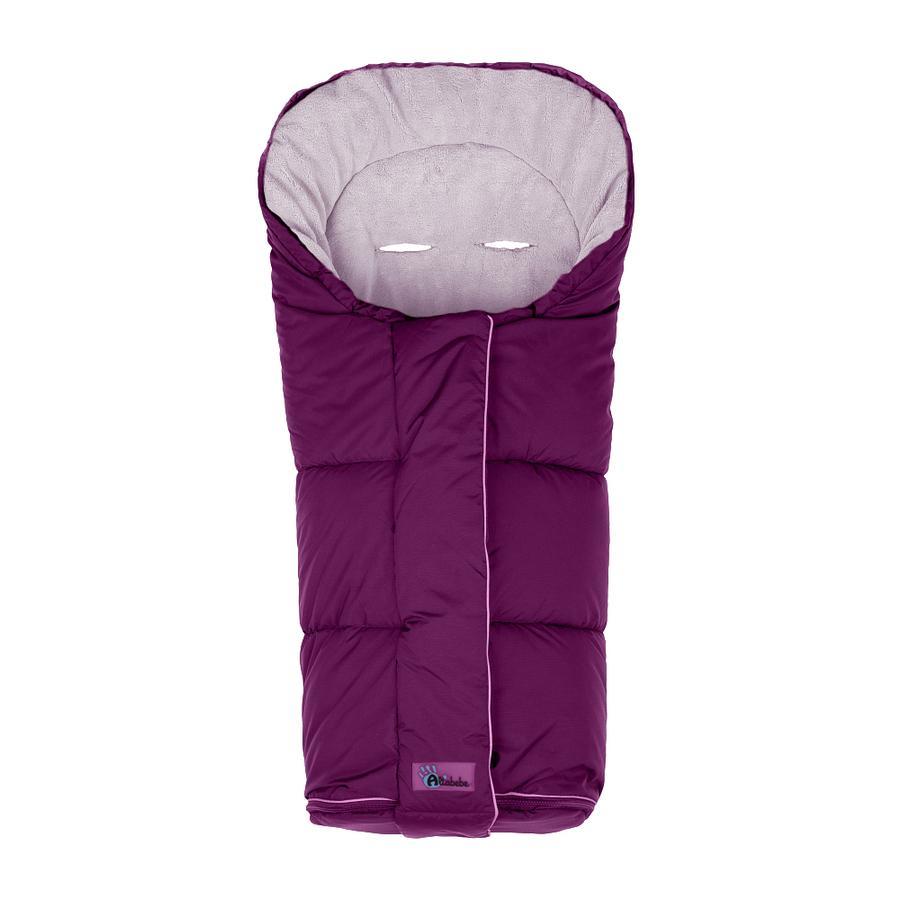 ALTABEBE Coprigambe a sacco invernale Nordic per passeggini viola-rosa