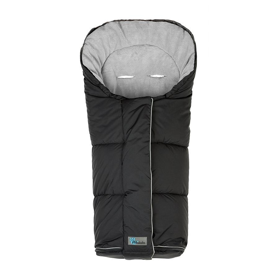 ALTABEBE Coprigambe a sacco invernale Nordic per passeggini nero-grigio scuro