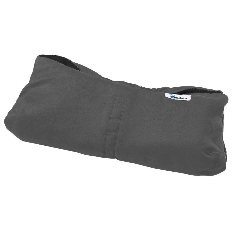 Altabebe Protège-mains Alpin, gris foncé/noir