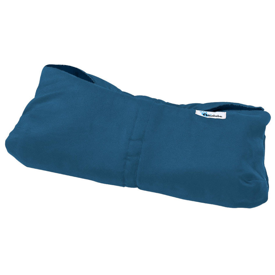 Altabebe Protège-mains pour poussette Alpin, bleu marine/bleu marine