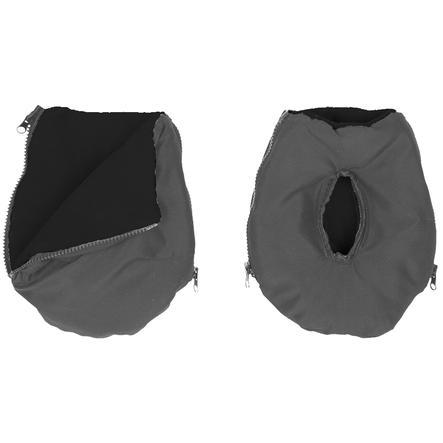 Altabebe Manicotto scaldamani Alpin grigio scuro-nero