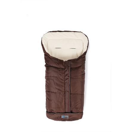 Altabebe Saco cubrepies de invierno Basic XL con ABS marrón-blanco