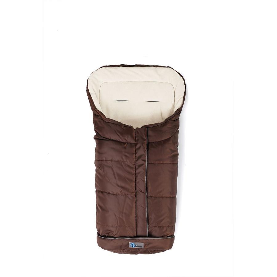 Altabebe vinterfotmuff Active XL med ABS for barnevogn Braun- Hvit vask