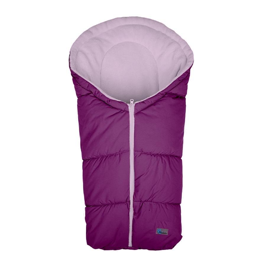 Altabebe Coprigambe a sacco invernale Basic per seggiolino auto Gruppo 0+ viola-rosa