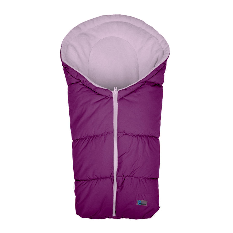Altabebe Zimní spací pytel Basic do vajíčka 0+ fialovo-růžový