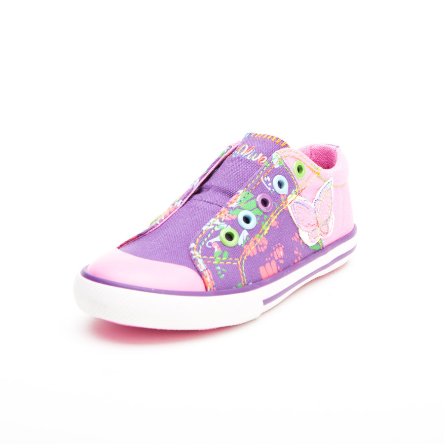 s.Oliver-shoes Girls Halbschuh Purple