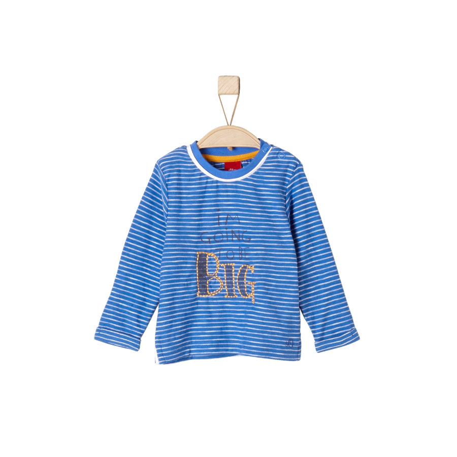 s.Oliver Boys Longsleeve medium blau