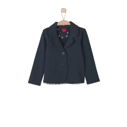 s.Oliver Girls Sweatjacke Blazer dark blue