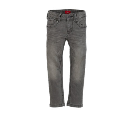 s.Oliver Boys Hose grey denim regular