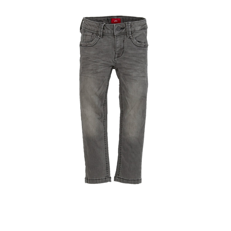 s.Oliver Boys Jeans grey denim slim