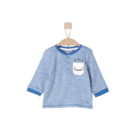 s.Oliver Manichetta bebé a maniche lunghe blu medio allover