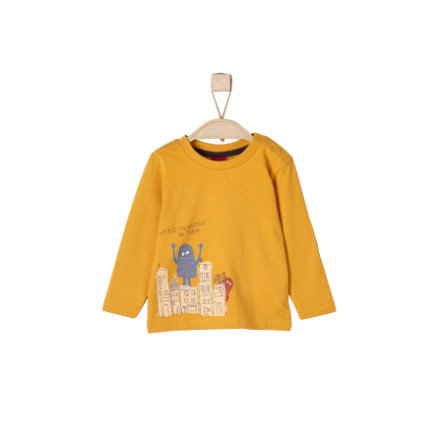 s.Oliver Boys Longsleeve yellow
