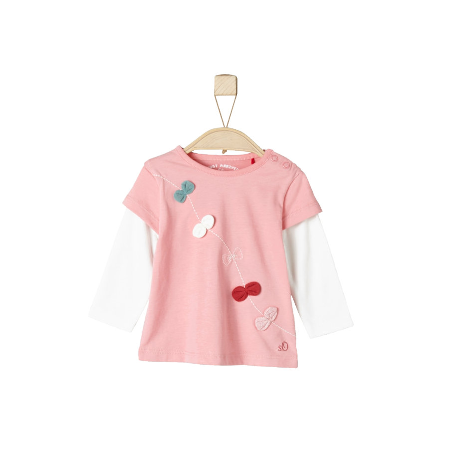 s.Oliver Girl s Manches longues rose clair