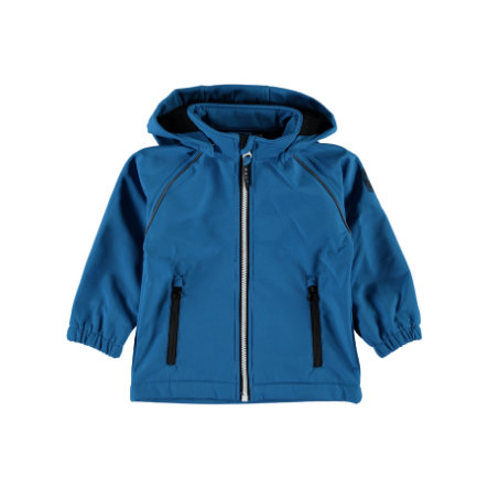 name it Boys Softshelljacke Alfa mykonos blue