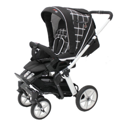 HARTAN Passeggino Sky GTS Chocolate/White (919)