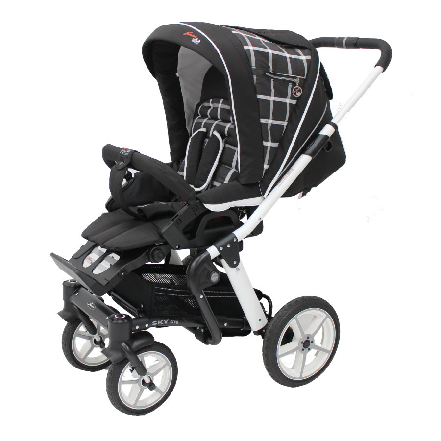 Hartan Kinderwagen Sky GTS Chocolate/White (919)