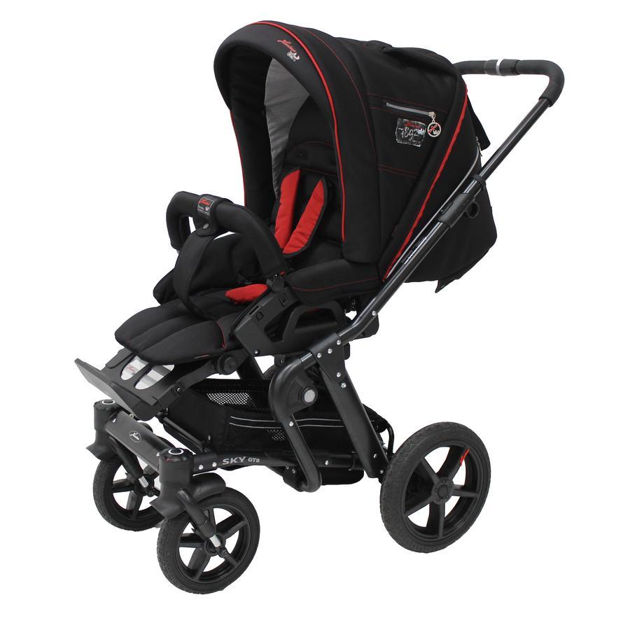 HARTAN Wózek dziecięcy Sky GTS (925) Black Softshell