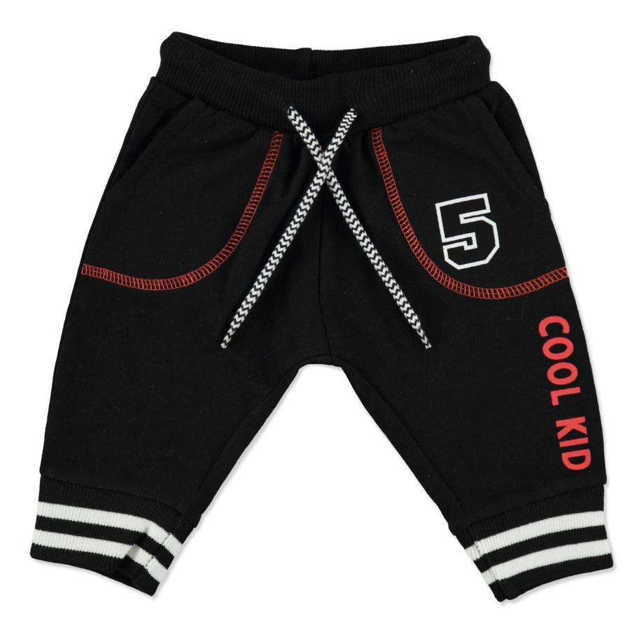 MAX COLLECTION Boys Pantalon de survêtement noir
