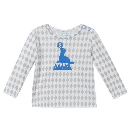 ESPRIT Newborn Shirt met lange mouwen Diamant