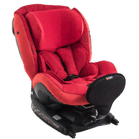 BeSafe Kindersitz iZi Kid X2 i-Size tone in tone Ruby Red