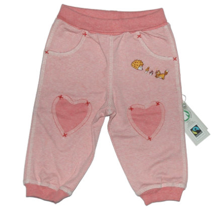 Pantalon de jogging EBI & EBI Fairtrade vieux rose échoué