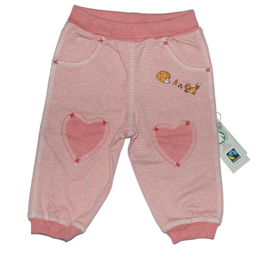 EBI & EBI Fairtrade Spodnie sportowe pudrowy róż