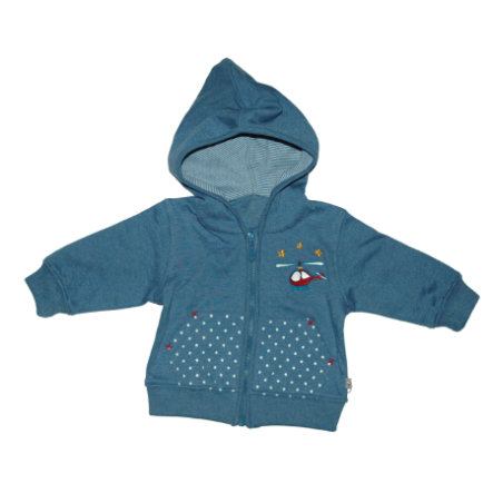 Sweat à capuche à capuche EBI & EBI Fairtrade bleu