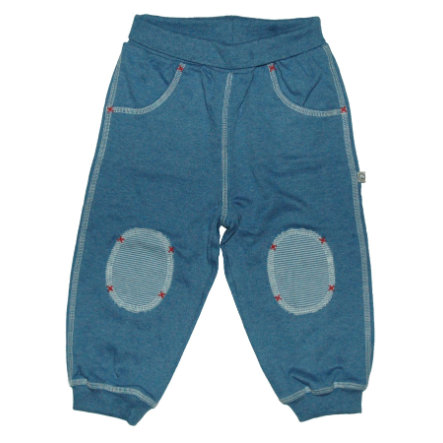 EBI & EBI Fairtrade Jogginghose blau uni