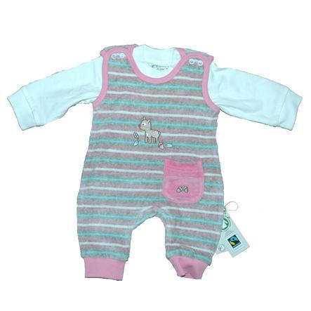 61e8e380980ad3 EBI   EBI Fairtrade Stramplerset pink - baby-markt.ch