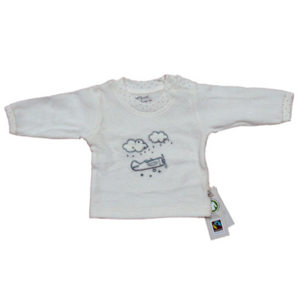 EBI & EBI Fairtrade Bluzka z długim rękawem plusz