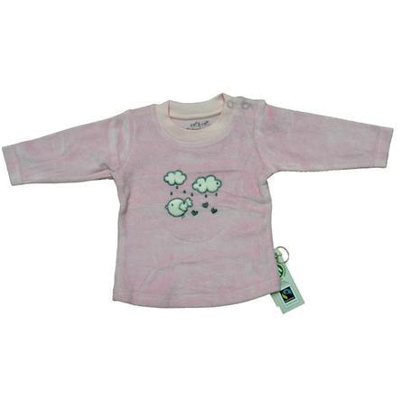 EBI & EBI Fairtrade camisa de manga larga Nicki rosa pálido