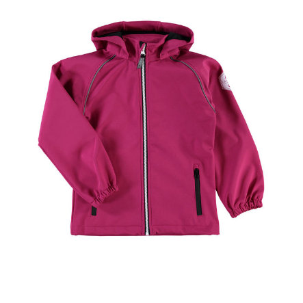 name it Girls Kurtka Softshell  Alfa sangria