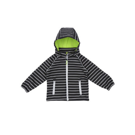 name it Boys Kartka Softshell Alfa black