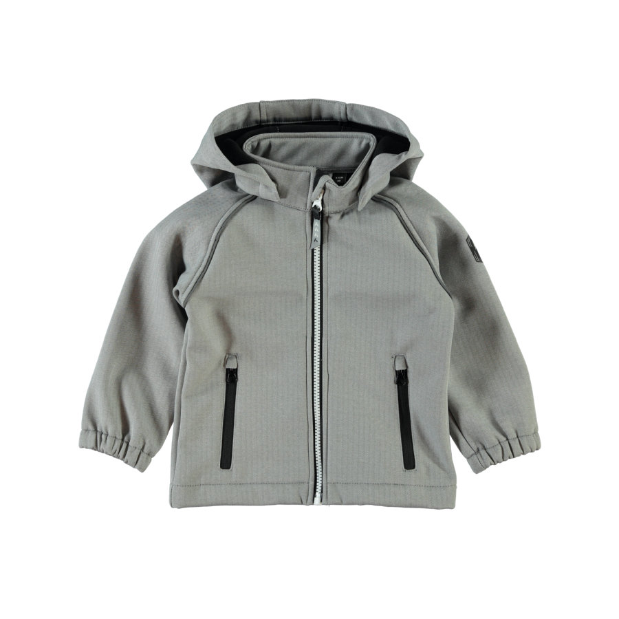 name it Softshell Jas Frost Gray