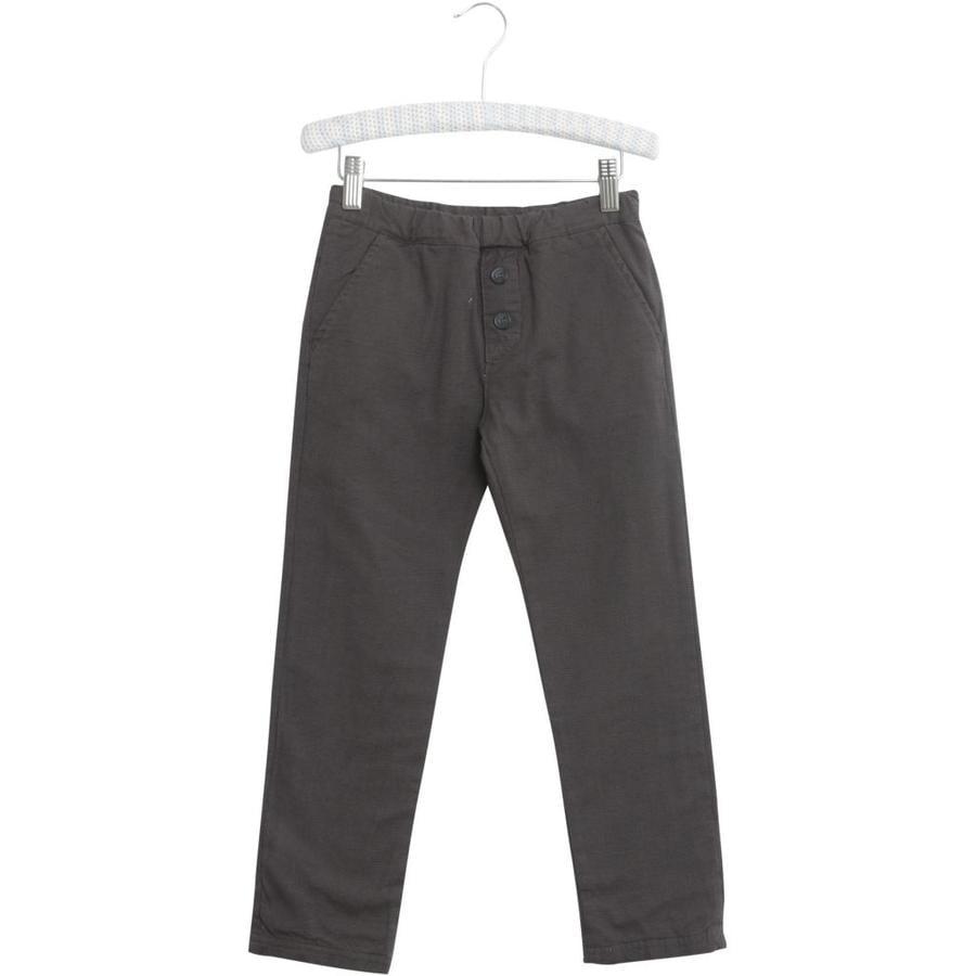 WHEAT Pantaloni Tobias acciaio