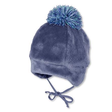 Sterntaler Mütze nachtblau