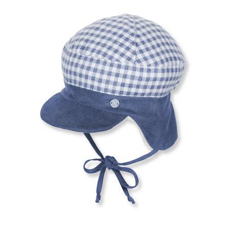 Sterntaler Boys Bonnet pare-soleil bleu nuit