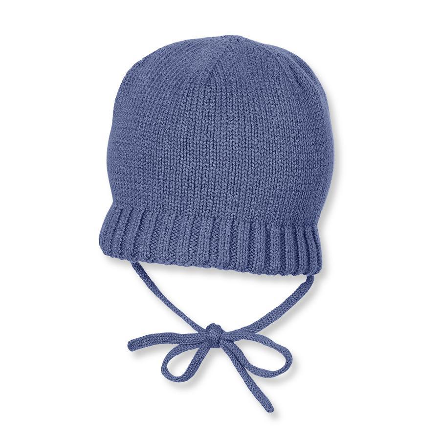 Sterntaler Boys Bonnet tricoté bleu nuit