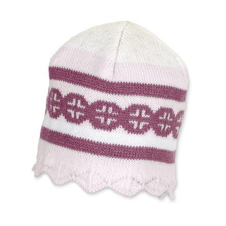 Sterntaler Girl s Bonnet tricoté rose