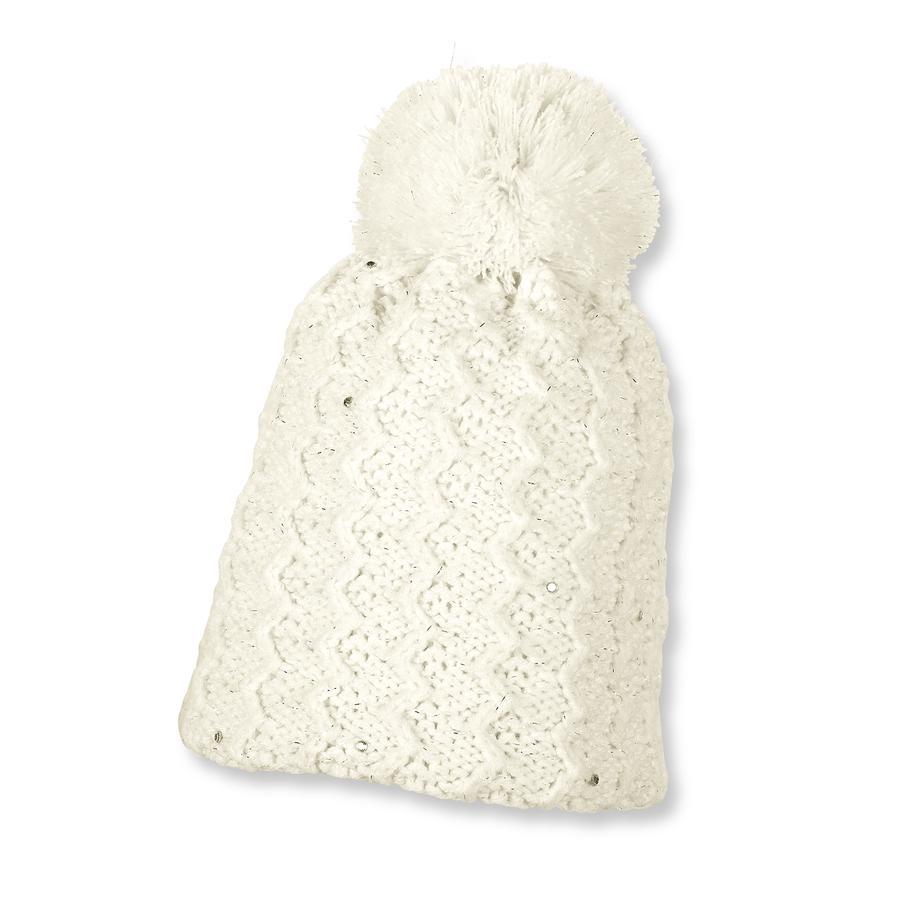 Sterntaler Girl berretto in maglia di s ecrù
