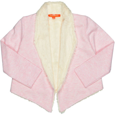 STACCATO Girls Plüschcardigan powder melange